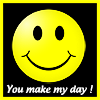 Blondebitz: Smiley icon you make my day
