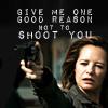 One Good Reason Not To Shoot You (Ellen)