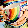 Kiwi Crocus: Rainbow || Mug.