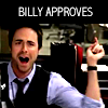 Billy approves