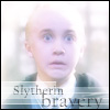 Slytherin bravery credit to abbycadabra