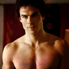 tbt93: damon shirtless