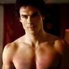 tbt93: damon shirtless