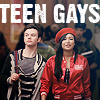 snitches be crazy: glee - teen gays