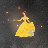 Kaitlin: [Disney] Belle small cut out