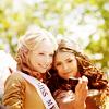 Frances: TVD - Candice and Nina cute