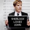 BBC Sherlock:Sherlock Loves John