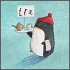 tea-serving penguin