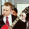 damien listening guitar