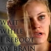 reboot: sharpe, wait while I reboot my brain