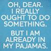 Rachel: futurama i ought to do something pajamas