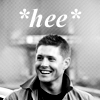 Squee!, Dean is amused, Hee!