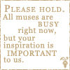 Muses Busy