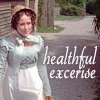 Lizzie B -- Healthful Exercise by sallym