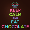 Stock: keep calm and eat chocolate