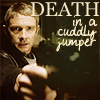 Death in a cuddly jumper