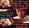 XF/TFLN - Scully wants a sandwich