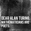 faience: Quote / mathematicians are poets