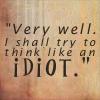 Thinking Idiot