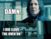 oven snape