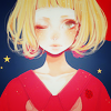 (r)ina。: red&blue stars