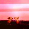 Chloé: Disney: Simba & Nala cubs