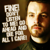 ldkirby: GoT - renly: fine don't listen to me and