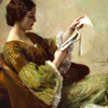 Nehama: woman reading