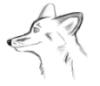 Simple Drawn Fox