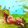 ☁ come the dawn, we shall see: ❖ (trio) . pumpkins