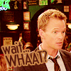 Confused, What The Heck?!, Barney Stinson3, Scared, Shocked