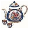 fancy floral teapot