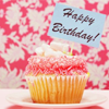 lijahlover: Happy birthday cupcake