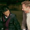 LOUK Freema Ben laughing