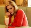 morethansirius: Hermione sips milkshake