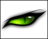 cat eye, green, policy