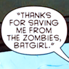 DC // Saving Me From Zombies