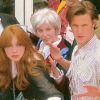 SDCC Matt Smith & Karen Gillian & me