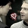 Sherlock - heart love