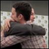 lijahlover: Domlijah hug at 2011 Comic Con-I d