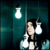 Sonny with light bulbs