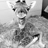 Spackle: giraffe: may I help you?