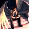 Castiel!Wings