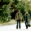 SAM AND DEAN ON THE ROAD