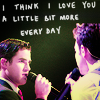 seanmegansean: GLEE LIVE Klaine skit love you more ever