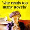 Violet - too many novels