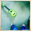 feet, me, ukulele, toes