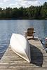 canoe, heaven, cottage