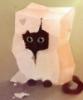 котик в бумажном пакете