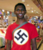 nigga with swastika